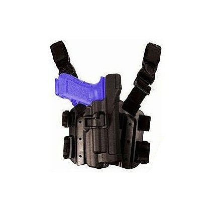 Blackhawk SERPA Level 3 Light-Bearing Tactical Holster, fits Xiphos NT Light, Black