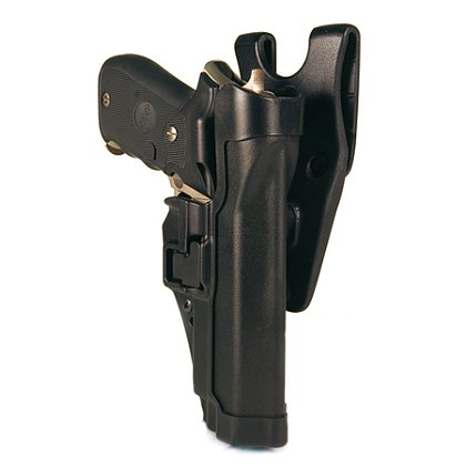 Blackhawk SERPA Auto Lock Level 2 Holster, Black