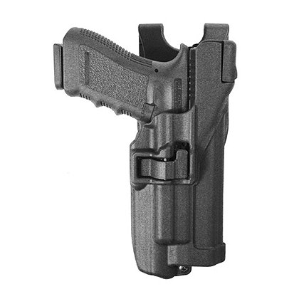 Blackhawk SERPA Level 3 Light-Bearing Duty Holster, fits Xiphos NT Light, Black