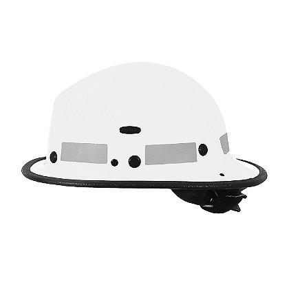 Pacific BR5 Kevlar Fire Helmet, White