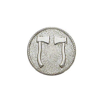 Smith & Warren Two Axes (Standing) Medallion