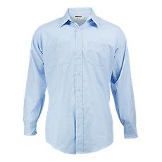 05f7cf260abb Elbeco Men's Long Sleeve Express Dress Shirt, Light Blue
