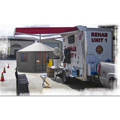 Crew Boss Rehab Trailer Kit for NFPA 1584, 2008