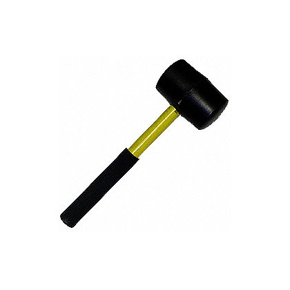Fire Hooks Unlimited Connection Mallet, 2 lb, w/Fiberglass Handle