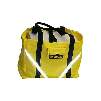 Avon Cribbing Bag, Yellow with Reflective Trim