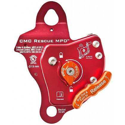 CMC Rescue Multi-Purpose Device, Pulley, Rescue Belay, Descender