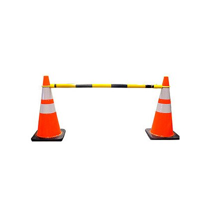 JBC Safety Plastics Telescoping Cone Bar, 3' to 6'