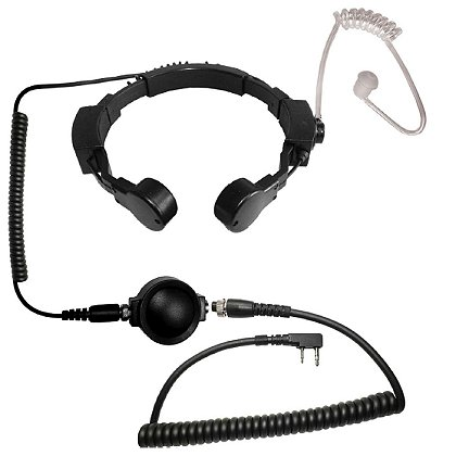 Code Red Assault Tactical Dual Throat Microphone