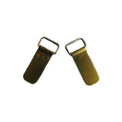 TheFireStore Chinstrap Clips for all Cairns Leather Helmets, One Pair
