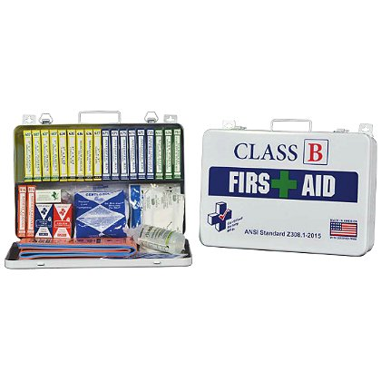 Certified Safety Class B First Aid Kit