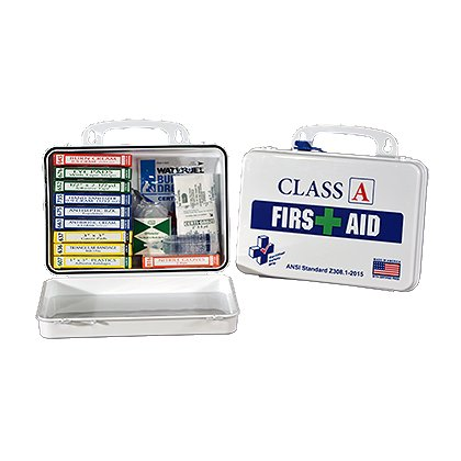 Certified Safety 16R Class A First Aid Kit Refill