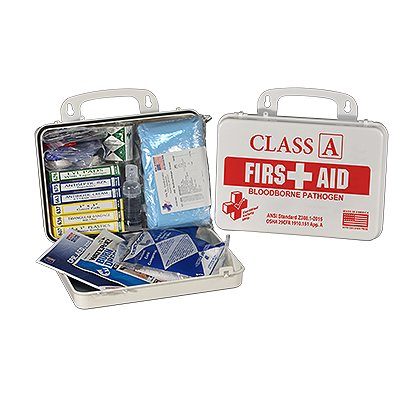 Certified Safety Class A 16R Class A & BloodBorne Pathogen Kit Refill