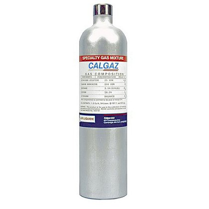Calgaz Calibration Gas, 1 Gas HCN