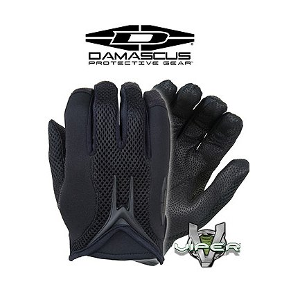 Damascus Viper Duty Gloves, Black