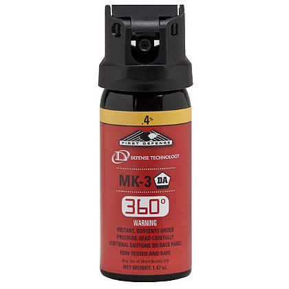 Defense Technology First Defense MK-3 360°, 1.47oz, Stream