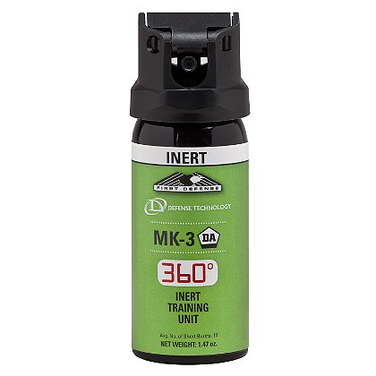Defense Technology First Defense 360° Inert MK-3 Stream OC Aerosol