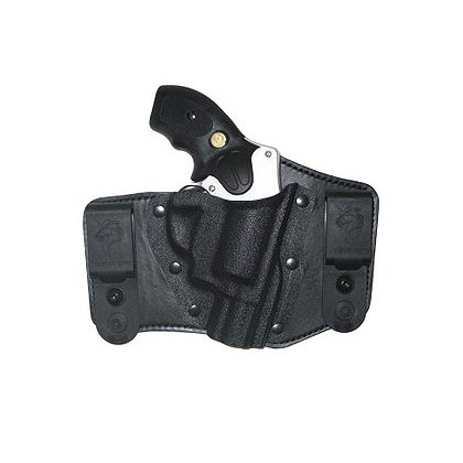 DeSantis Intruder Belt Holster, Style 105, Black Kydex