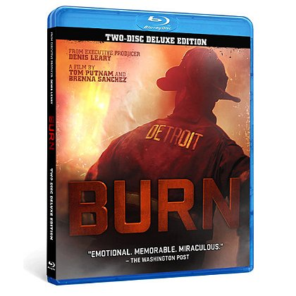 Detroit Fire Film BURN, Detroit Firefighters Documentary, Blu-Ray