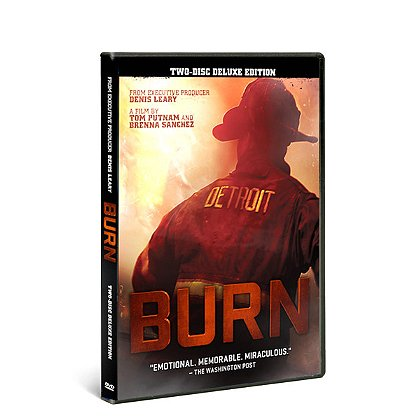 Detroit Fire Film BURN, Detroit Firefighters Documentary DVD