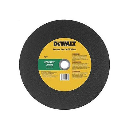 Dewalt Masonry Portable Saw Wheels