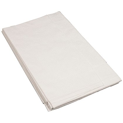 Dynarex White 2 Ply Disposable Drape Sheets 40 X 90