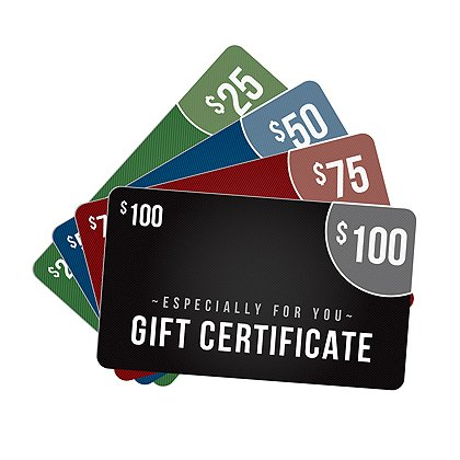 E-GIFT CERTIFICATE: Redeemable at theEMSstore.com