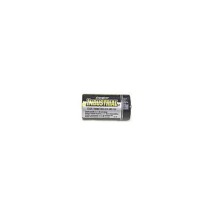 Energizer C-Cell Industrial Alkaline Batteries, Box of 12