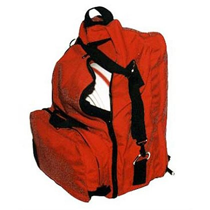 EVAC Systems Hose Back Pak, Red