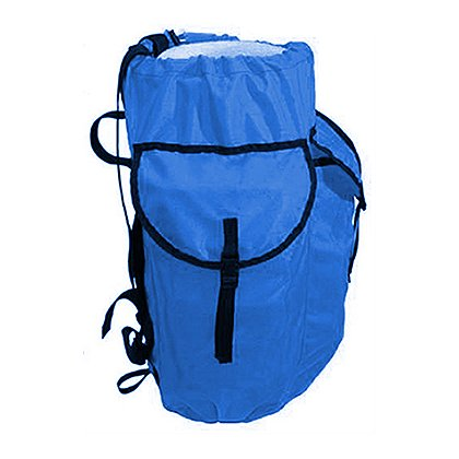 EVAC Systems Large Res Q Hardware Rope Bag, Blue