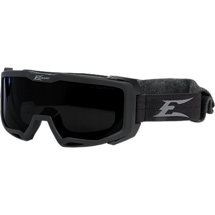 Edge Tactical Blizzard Goggle Matte Black with Clear & G-15 Vapor Shield Lenses