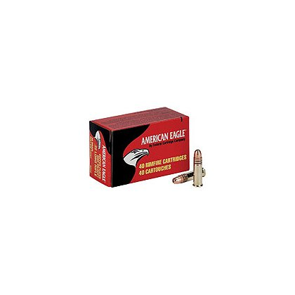 Federal Cartidge American Eagle Rimfire .22LR 38 Gr HV HP Copper Plated, Box of 40