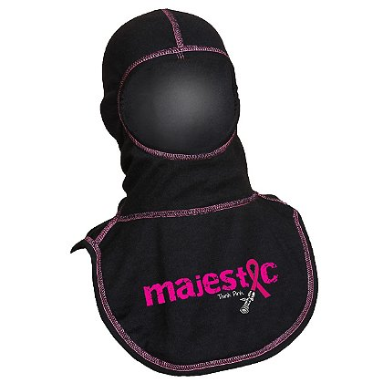 Majestic PAC II Awareness, Think Pink Black Hood with Pink Thread, Certified NFPA 1971-2013