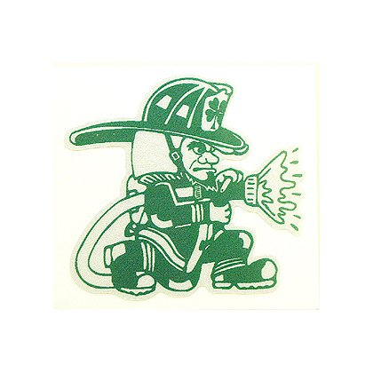 Exclusive Fighting Irish Die Cut Decal