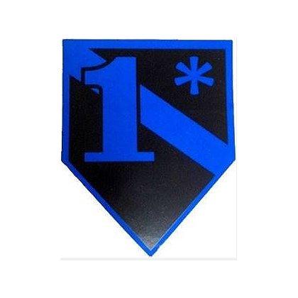 FrontLine Designs, LLC Blue Line 1* Sticker