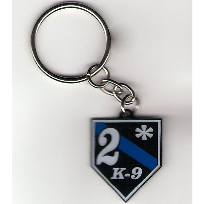 FrontLine Designs, LLC 2* Thin Blue Line Keychain