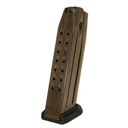 FNH USA FNS-9 Magazine, 9mm Luger, 17 Rounds, Black