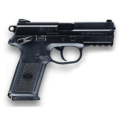 FNH USA Model FNX-40 with Matte Black Slide and Night Sights, .40 S&W