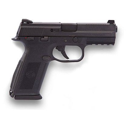 FNH USA Model FNS-9 with Matte Black Slide and Night Sights, 9mm Luger