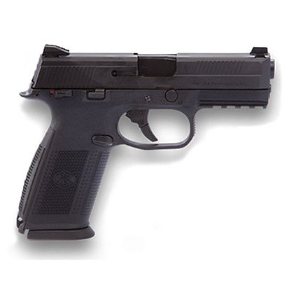 FNH USA Model FNS-40 with Matte Black Slide and Night Sights, .40 S&W