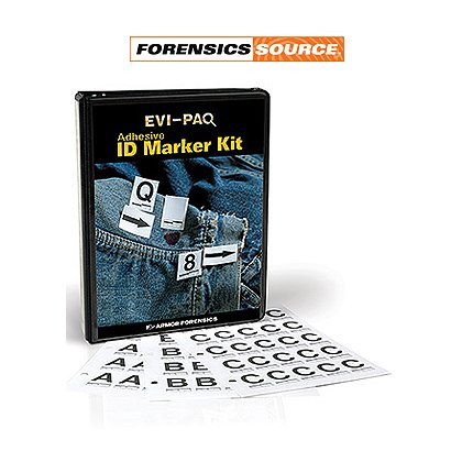 Forensic Source Adhesive ID Marker Kit
