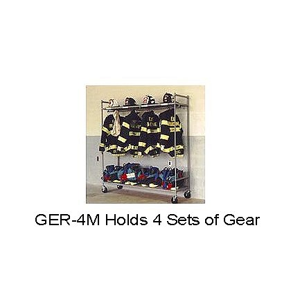 Gearmaster Econo-Rack Free Standing Gear Rack, Gray Epoxy Finish
