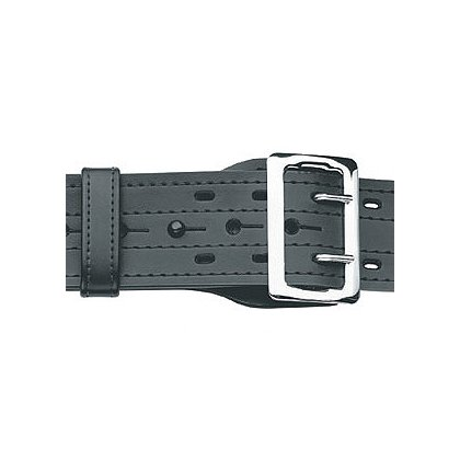 Gould & Goodrich Duty Leather E-Z Slide Duty Belt with Four Row Stitching