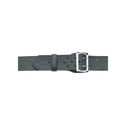 Gould & Goodrich Duty Leather Fully Lined Duty Belt with Four Row Stitching