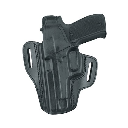 Gould & Goodrich GoldLine 802 Two Slot Pancake Holster, Black