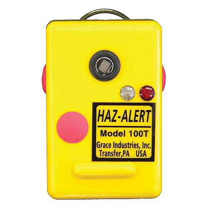 Grace Industries Haz-Alert Personal Gas Detector & Emergency Call Alarm