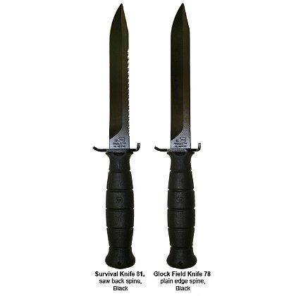 Glock OEM Field-Survival Knife with Sheath