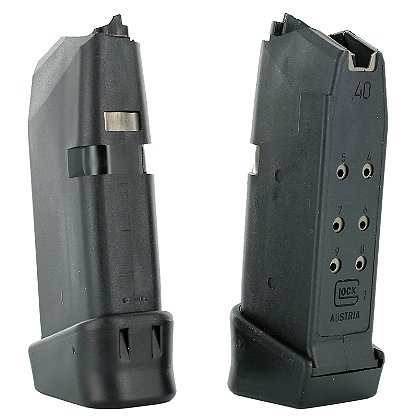 Glock OEM Factory .40 S&W Magazine with +2 Extension