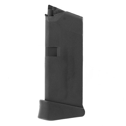 Glock 43, 9mm, 6rd Single Stack Magazine with Extension