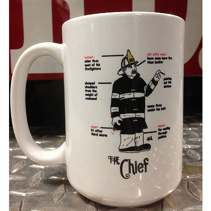 Gettin Salty Chief Ceramic Coffee Mug