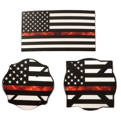 Gettin Salty Thin Red Line Combo Pack